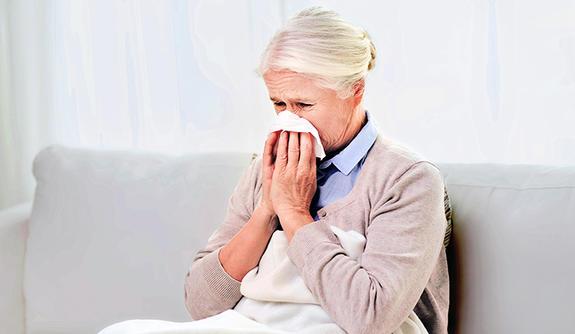 Grypa zwiększa ryzyko zwału serca u starszych osób