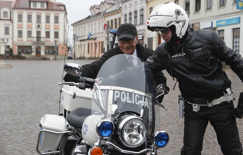 Harley Davidson dla rzeszowskiej Policji. Drogówka ma motocykl jak z amerykańskich filmów