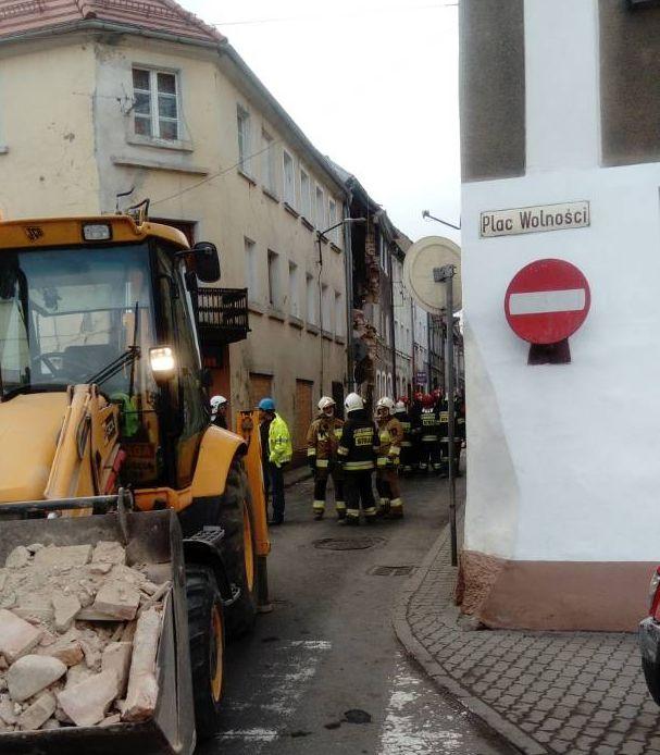 Tragedia w Mirsku. Zawaliła się kamienica po wybuchu gazu