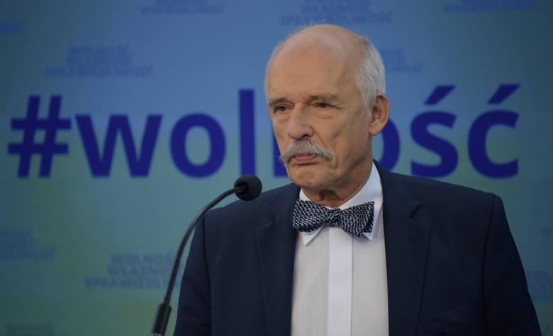 Janusz Korwin-Mikke kończy z polityką? Prezes partii Wolność negocjuje z Pawłem Kukizem