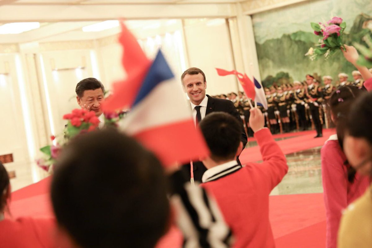 Macron nie przejmuje się brakiem kontraktów z Chinami