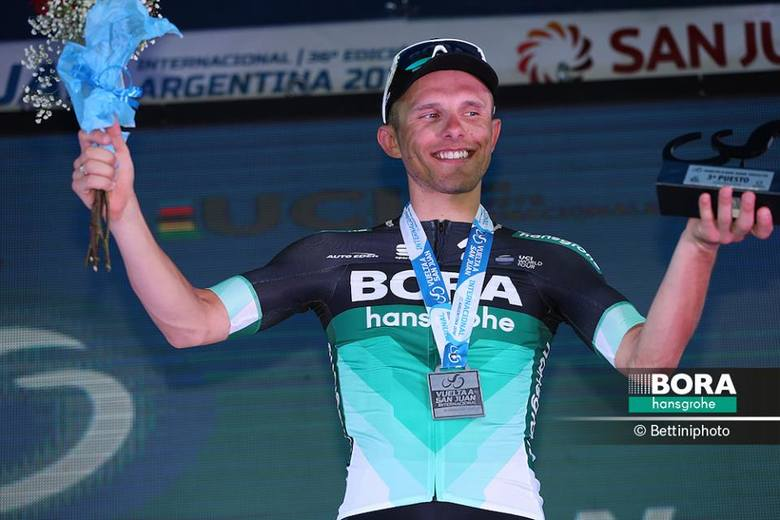 Rafał Majka nadal wiceliderem w wyścigu w Argentynie