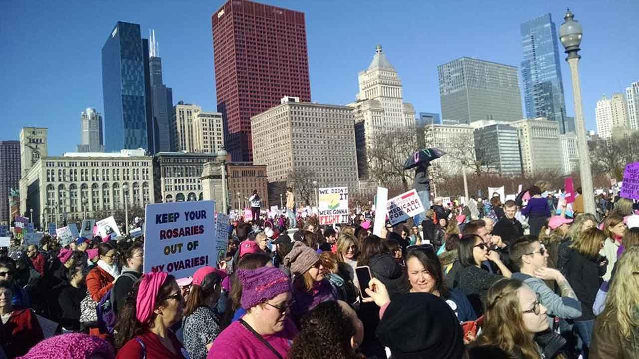 """Chicago: Prawie 300 tysięcy ludzi uczestniczyło w """"March to the Polls"""""""