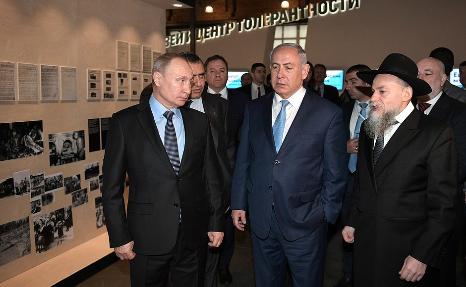 Putin i Netanjahu oddali hołd ofiarom Holokaustu