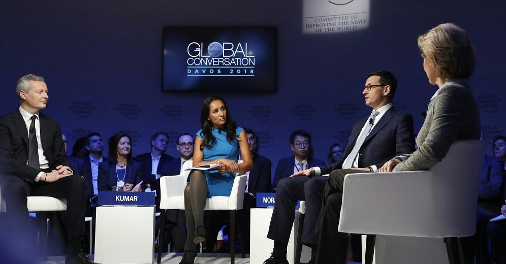 Premier Mateusz Morawiecki w Davos o braku równowagi społeczeństw