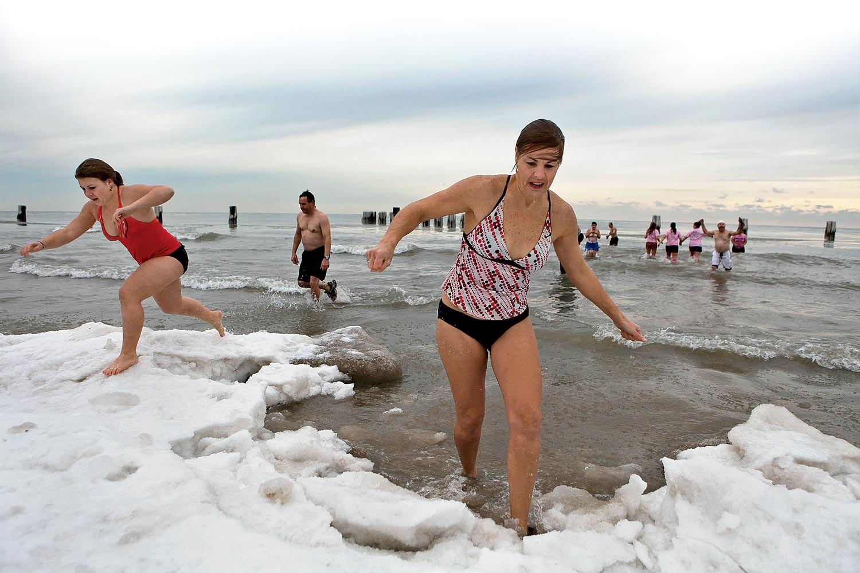Chicagowski klub morsów zorganizował 17.  Polar Plunge