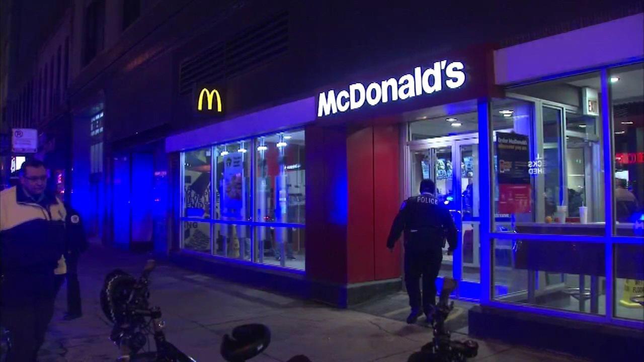 Kłótnia między klientami w McDonald's. Padły strzały