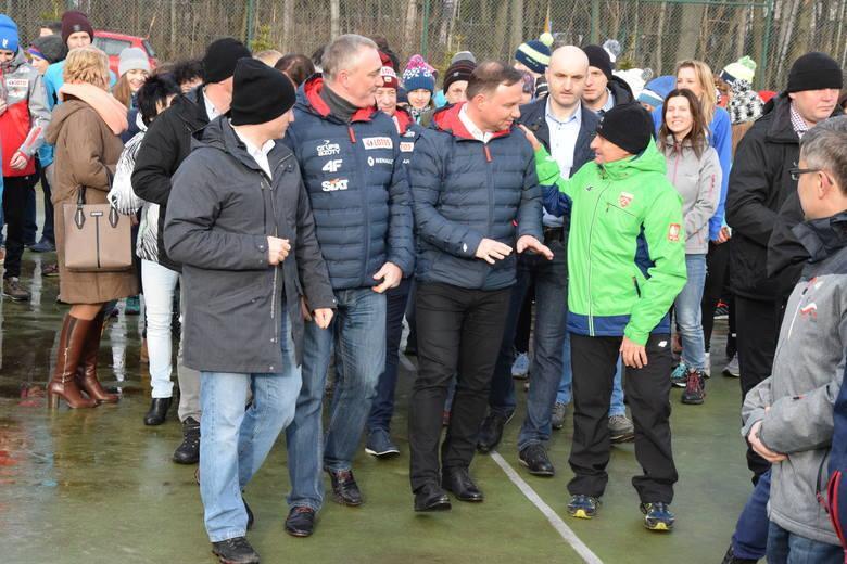 Prezydent Andrzej Duda w Szczyrku: Wizyta prezydenta przebiegła bez zakłóceń dzięki policjantom