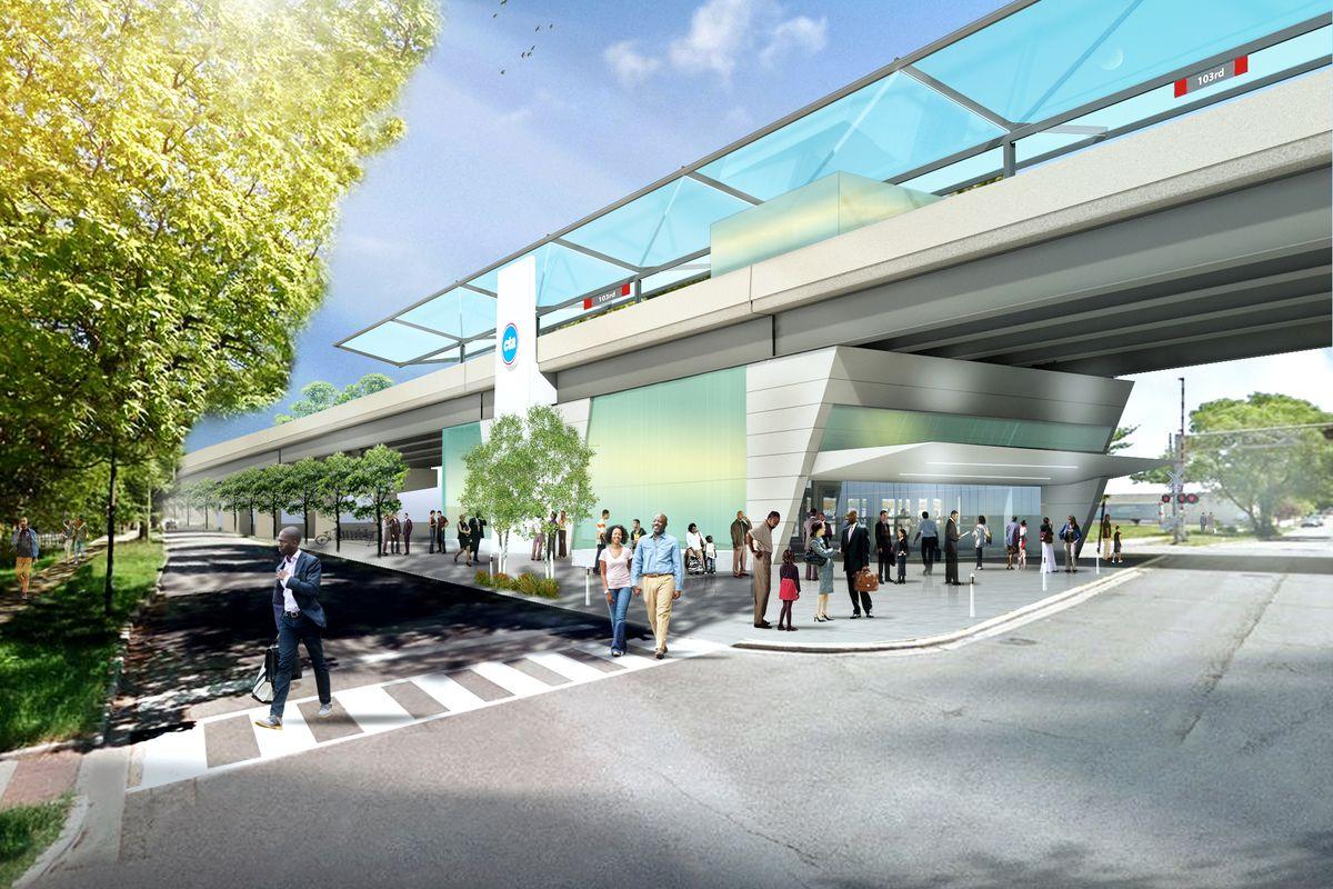 Przedstawiono plany przedłużenia trasy kolejki CTA Red Line