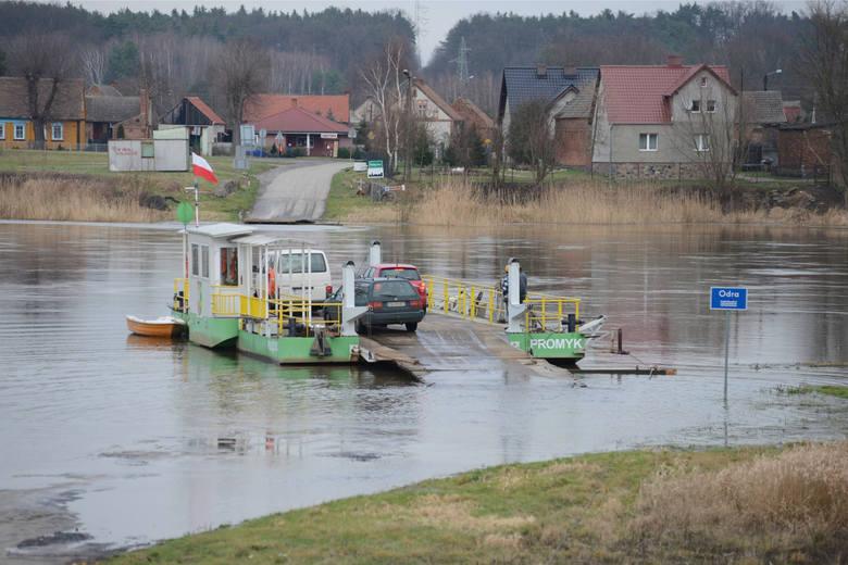 Lubuskie: Uwaga! 1 stycznia nie kursują promy na Odrze w Lubuskiem w Milsku, Pomorsku, Brodach i Połęcku