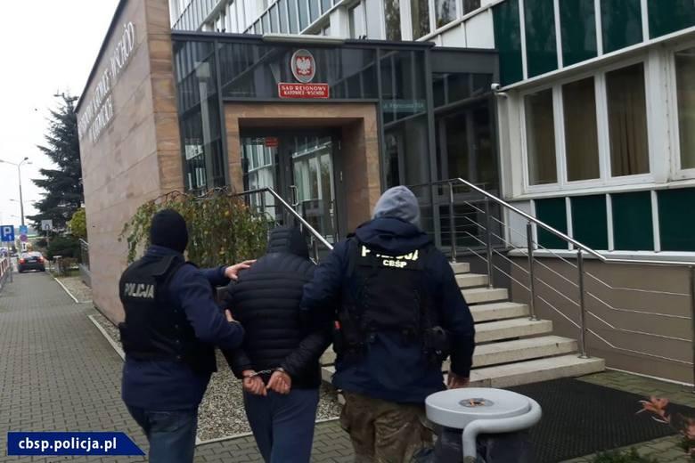 Policjanci z CBŚP z Rzeszowa rozpracowali polsko-ormiański gang