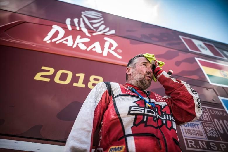 Koniec Dakaru dla Rafała Sonika. Złamał nogę