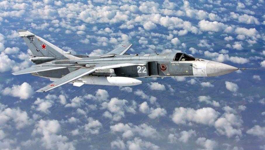 Rosyjskie myśliwce zdarzyły się w powietrzu