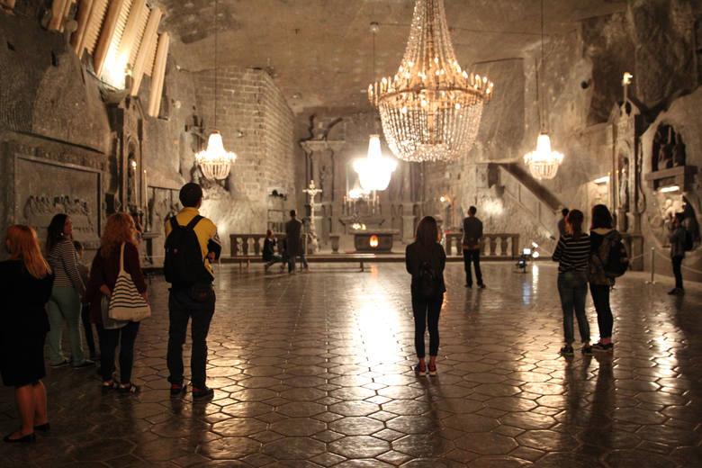 Kopalnię Soli w Wieliczce odwiedziło ponad 1,7 mln turystów. To rekord wszech czasów