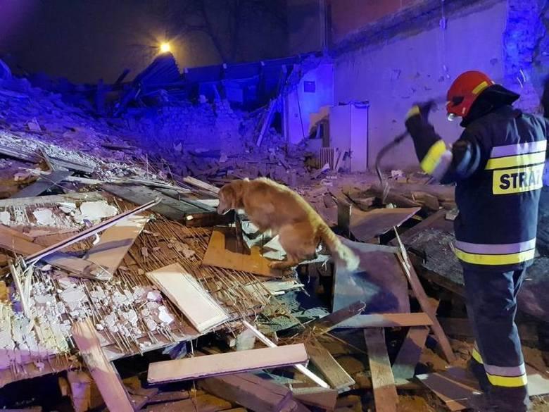 Wybuch gazu w Sosnowcu: 71-latek wyciągnięty z gruzów trafił do Centrum Leczenia Oparzeń w Siemianowicach