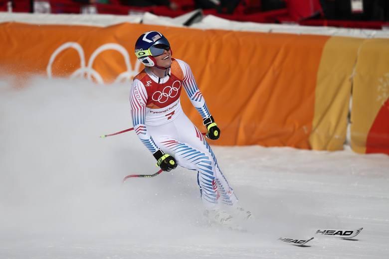 Pjongczang 2018.  Lindsey Vonn z brązowym medalem w zjeździe. To jedna z ciekawszych historii tych igrzysk