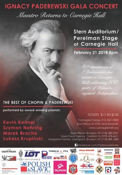 Paderewski Gala Concert
