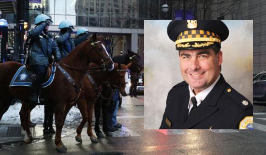 Wysoki rangą policjant zastrzelony w centrum Chicago