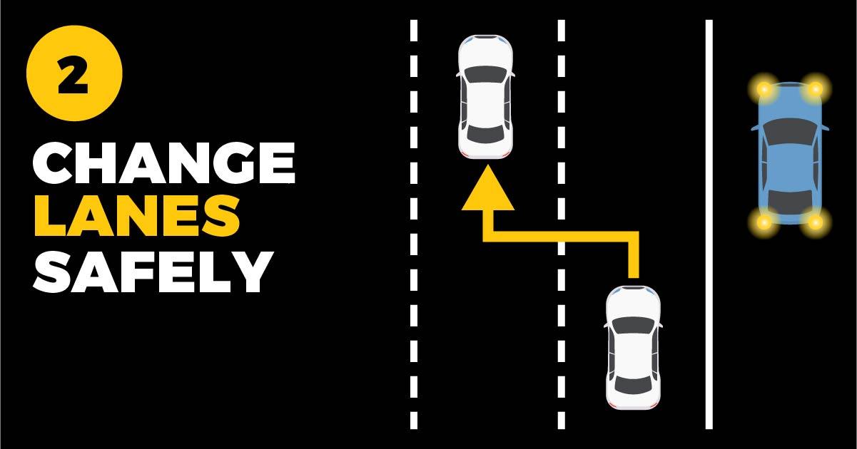 Policja stanowa Illinois promuje kampanię pod hasłem: Give them Distance