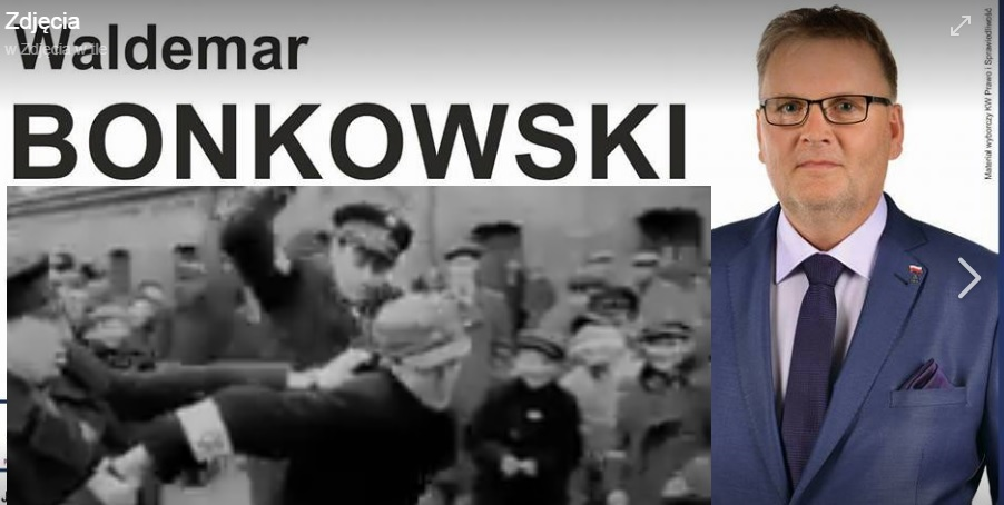 PiS zawiesza senatora Bonkowskiego za wpisy na Facebooku o kolaboracji Żydów