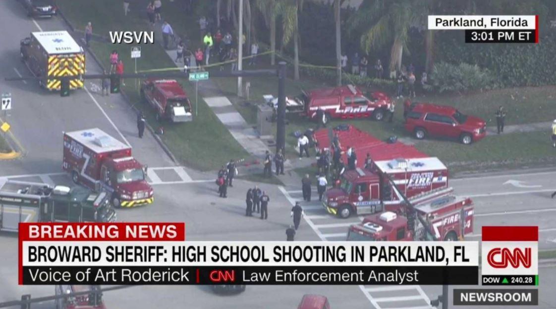 Strzelanina w szkole na Florydzie, są ofiary