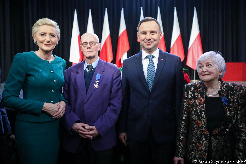 W Wilnie prezydent Duda zapewniał o wsparciu dla Polaków mieszkających na Litwie