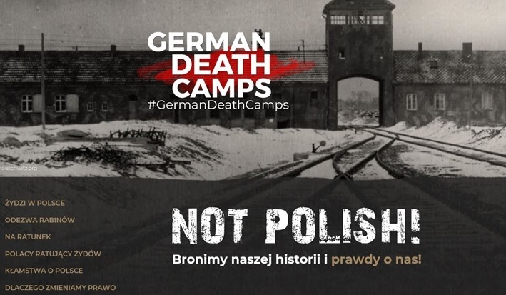 """Ministerstwo Sprawiedliwości uruchomiło stronę """"German Death Camps – Not Polish"""""""