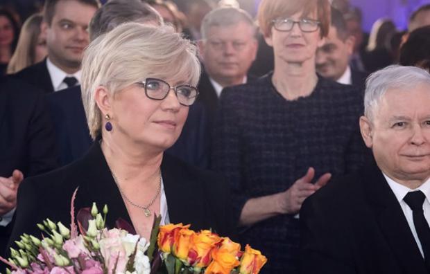 """Prezes TK odebrała nagrodę """"Człowiek Wolności"""""""