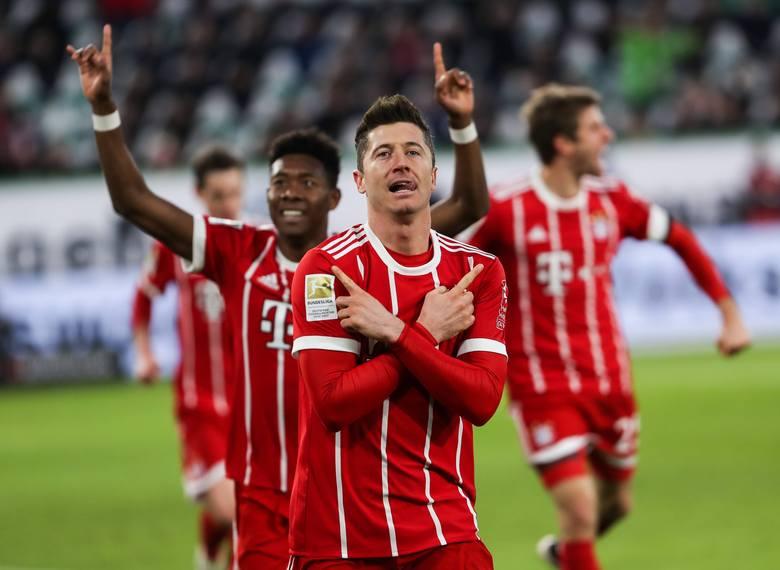 Robert Lewandowski strzelił gola, a jego Bayern Monachium wygrał na wyjeździe z AEK Ateny