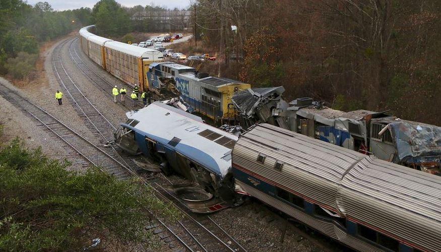 Wypadek pociągu Amtrak. Dwie osoby nie żyją, ponad 100 jest rannych