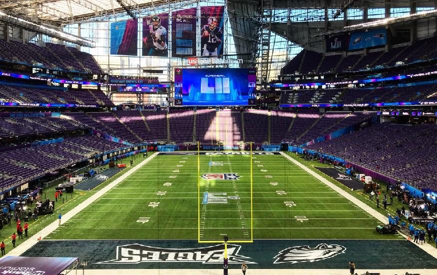 W Minneapolis zostanie rozegrany 52. Super Bowl