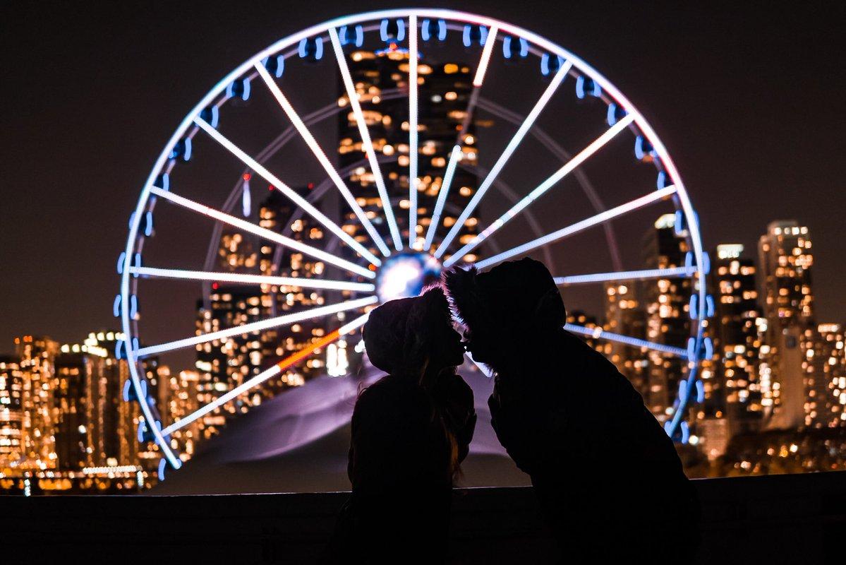 Navy Pier zaprasza na randkę w Walentynki