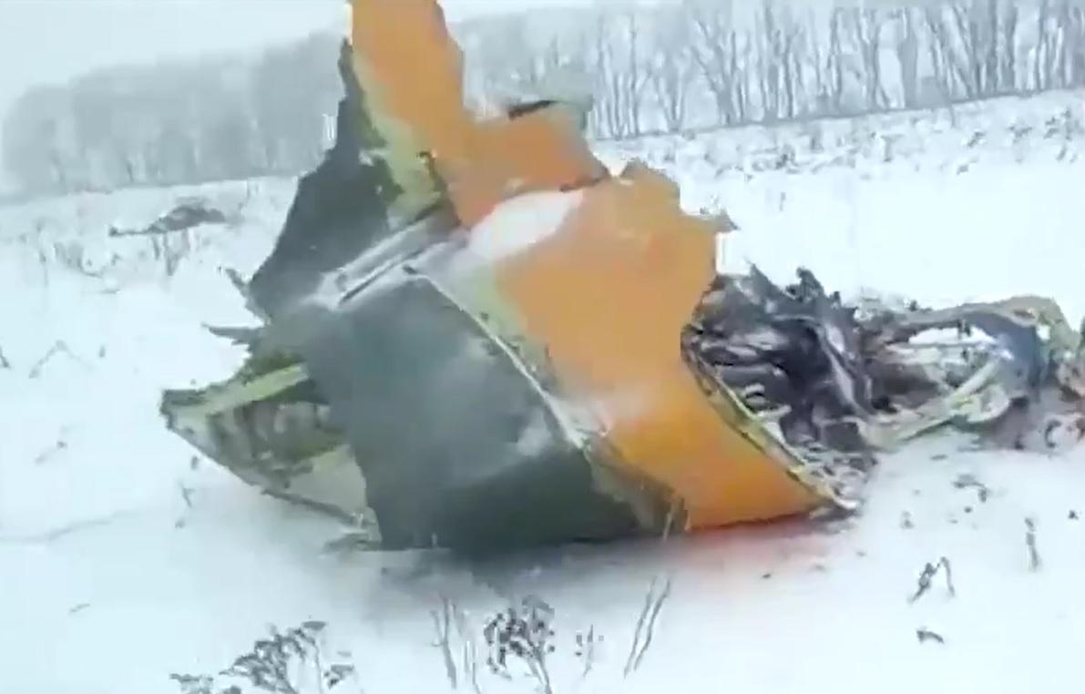 Moskwa: Oblodzone czujniki prędkości przyczyną katastrofy AN 148