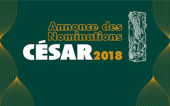 Francja – Podano listę nominowanych aktorek i aktorów do Cezarów 2018