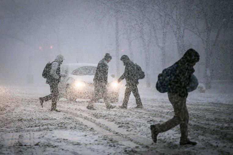Tak wcześnie w Chicago śnieg nie padał od 30 lat