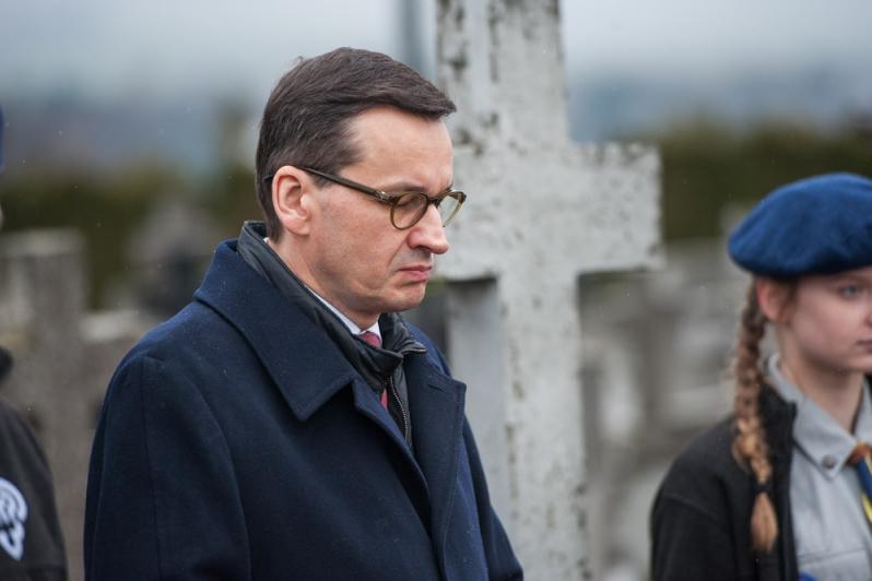 """Premier: To nasz Rubikon, nikomu nie pozwolimy mówić o """"polskich obozach"""""""