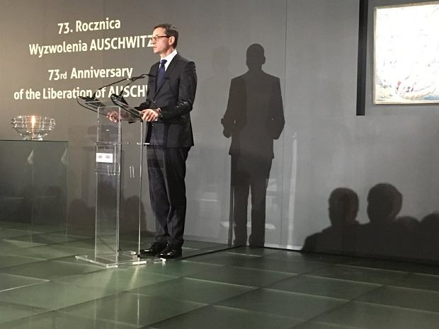 Dziennikarze z Izraela odwiedzili Muzeum Powstania Warszawskiego i rozmawiali z premierem