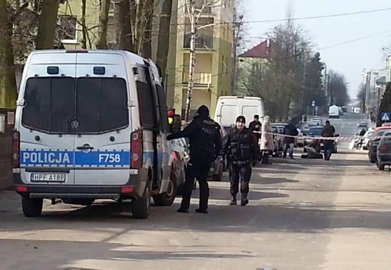 Strzelanina w Zgierzu. Ukraińcy i Gruzini zaatakowali interweniujących policjantów. Są ranni