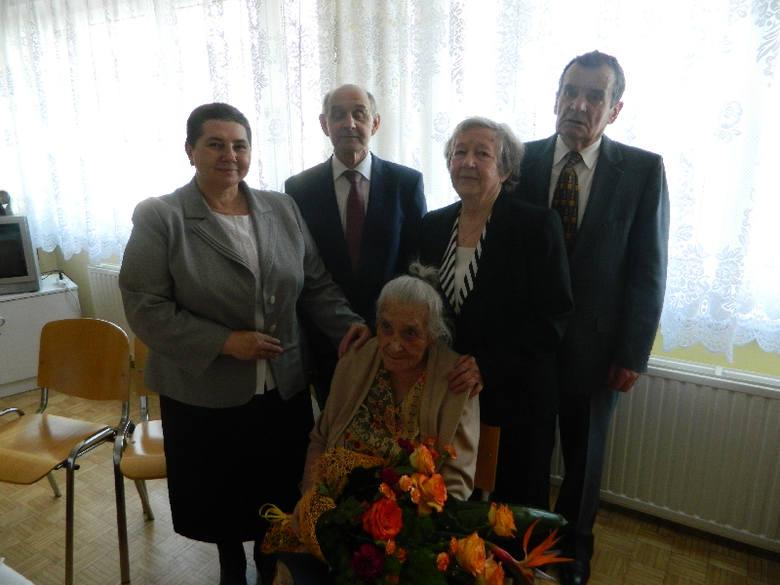 Świętokrzyskie: Pani Genowefa Sobieraj z Kolos świętowała 104 urodziny! To była piękna uroczystość