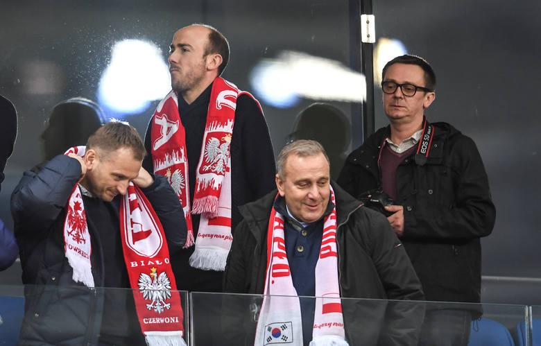 Kto się lansował na meczu reprezentacji Polski z Koreą?