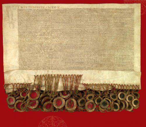 """Akt Unii Lubelskiej z 1569 roku na Światowej Liście Programu UNESCO """"Pamięć Świata"""""""