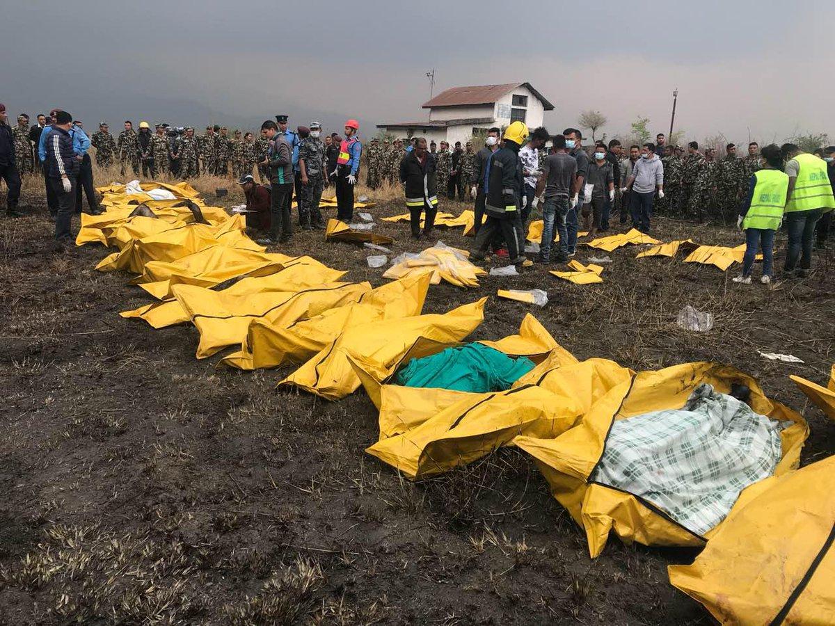 Nepal: Śledztwo w sprawie przyczyn katastrofy lotniczej. Błędne komendy przekazywane przez kontrolerów lotu?