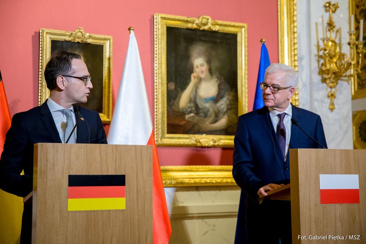 """""""Polska i Niemcy opowiadają się za wzmocnieniem jedności europejskiej"""". Tylko zapewne każde inaczej tą jedność pojmuje…"""