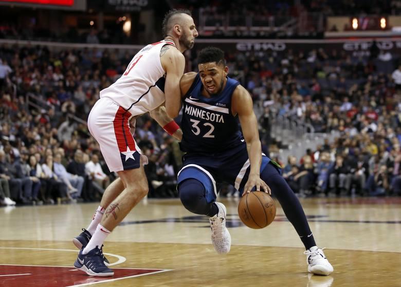 NBA. Double-double Marcina Gortata nie pomogło Washington Wizards w meczu z Detroit Pistons