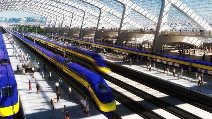 Superszybki pociąg z San Francisco do Los Angeles będzie kosztować 77 mld dolarów
