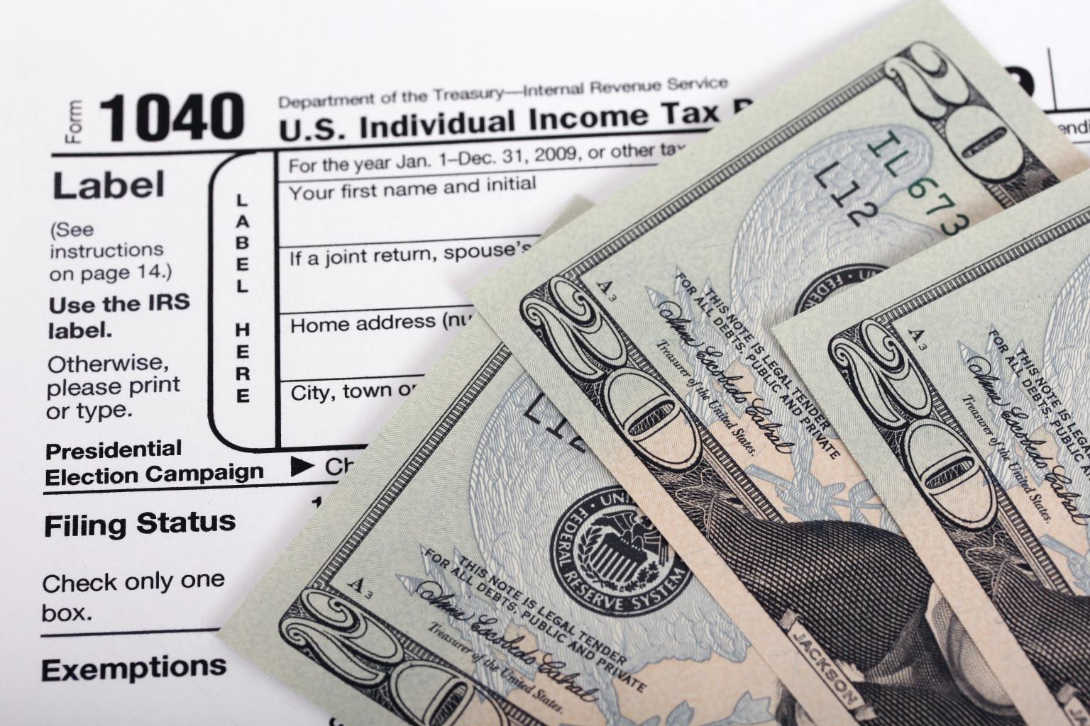 IRS do środy przedłużył termin rozliczeń podatkowych