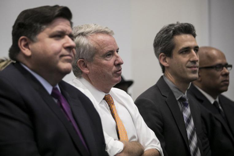 Debata demokratycznych kandydatów na gubernatora Illinois