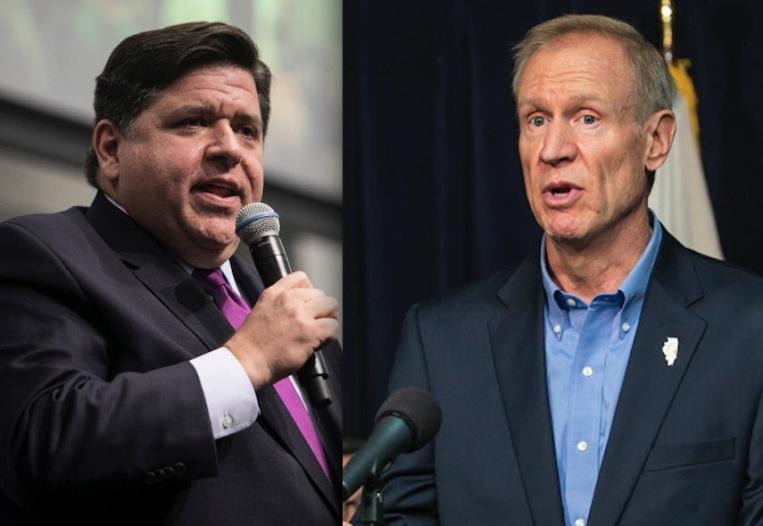 Rauner i Pritzker rozpoczęli ostrą kampanię wyborczą