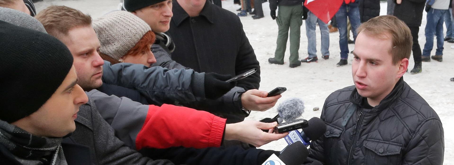 Andruszkiewicz zapowiada, że wystąpi na drogę prawną wobec redakcji i osób, które podały, iż sfałszował podpisy wyborcze