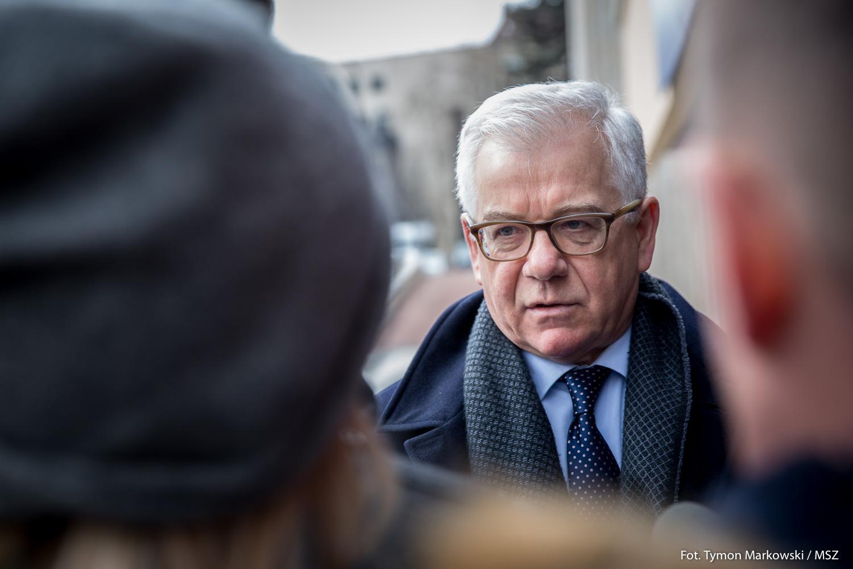 """Jacek Czaputowicz: Ograniczanie unijnego budżetu """"nielogiczne"""""""